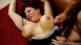 Chubby big tits milf leaves home with her younger lover for some money - 22:18