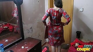 Lost Of Hardcore Wife At Sex Pitch With Her Husband on Indian Sex Tape Full Video - 4:58