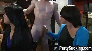hot women sucking fat cock in park - 6:03