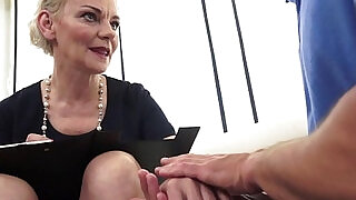 Euro matures hairypussy fucked and jizzed - 6:00