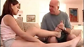 Girl fucked with daddy issues and sexy feet - 19:00