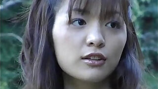 Hijiri Kayama gets fucked doggy and cum on street
