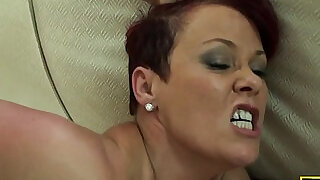 Redhead british sub roughly fucked - 10:00