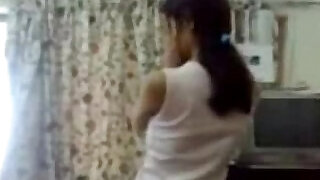 Indian girl sucking and fucking my ass with her Professor