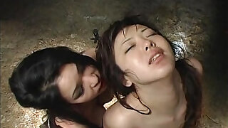 Provocative Asian slavegirl whipped by a horny domme - 15:00