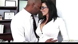 Big tit lawyer Shay Sights daydreams about fucking her boss - 7:00