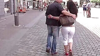 Horny casting agent looking for girls on the streets to fuck - 12:00