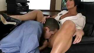 BigTitsBoss Sex At Work - 5:00