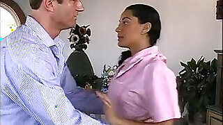 Anal sex tape with latin maid Paola - 15:00