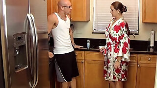 taboo passions son gets nasty with mom madisin lee in gotta workout - 11:00