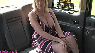 Female Fake Taxi Blonde amateur milf cums on sexy redheads tongue - 8:00