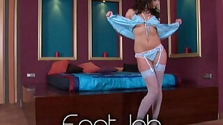 Sandra Shine FootJob - 29:00