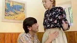 Granny Got Her Hairy Old Ass Anal Fucked - 2:00