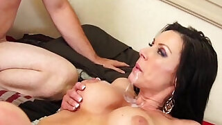Kendra Lust gets a mouthful of cum - 9:00