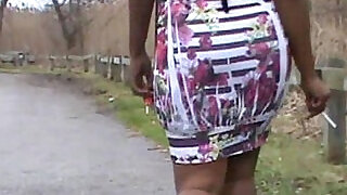 Smoking white and pink dress nilouachtland - 8:00