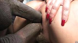 Milf porn Interracial sex hardcore - 5:00