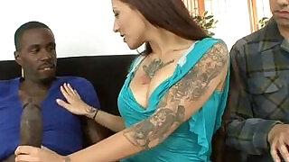 cuckold humiliation interracial orgy wife big cock inside slut milf slut - 5:00