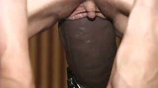 Busty amateur fucked non stop by a brutal dildo machine - 8:00