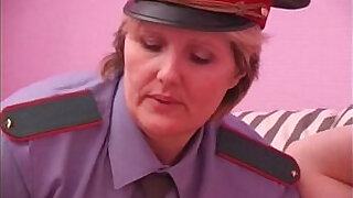 BBW mature policewoman forcing - 16:00