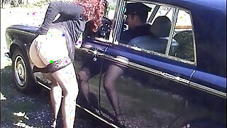 Jessica rizzo fucked in the ass by a rolls driver