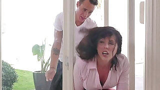 FamilyStrokes MILF Stuck Fucked By Both Stepsons - 12:00