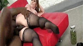 Black Creampie In Big Ttted Blonde Mom - 5:00