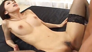 Hottest Asian Ricko Tachibana hammered by cock! - 9:00