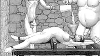 Dungeon terrors brutal extreme bondage bdsm toons art - 5:00