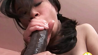 Damn pretty asian pussy being impaled by huge black cock - 24:00