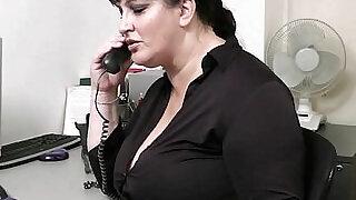 Horny co worker bangs BBW - 6:00