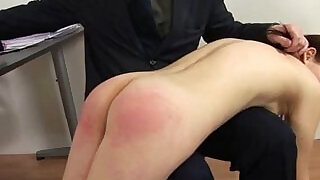 Spanked by rude teacher - 6:00