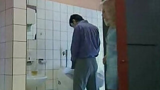 German woman fucked in public toilet - 17:00