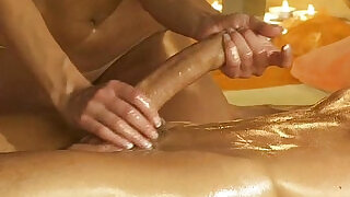 Handjob Massage From Gorgeous busty Blonde - 16:00
