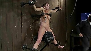 Pretty hot babe bound, oiled, punished - 5:00