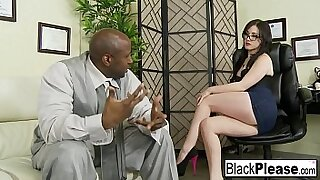 Interracial Cream Pie and honeymoon love - 7:54